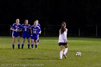 8356 Girls Varsity Soccer v Casc-Chr 101111