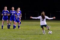 8361 Girls Varsity Soccer v Casc-Chr 101111