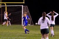 8379 Girls Varsity Soccer v Casc-Chr 101111