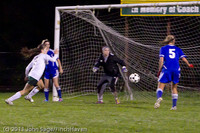 8403 Girls Varsity Soccer v Casc-Chr 101111