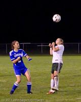 8432 Girls Varsity Soccer v Casc-Chr 101111