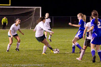 8440 Girls Varsity Soccer v Casc-Chr 101111