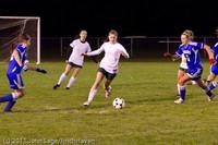 8467 Girls Varsity Soccer v Casc-Chr 101111