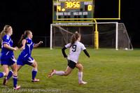 8496 Girls Varsity Soccer v Casc-Chr 101111
