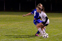 8503 Girls Varsity Soccer v Casc-Chr 101111