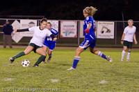 8538 Girls Varsity Soccer v Casc-Chr 101111
