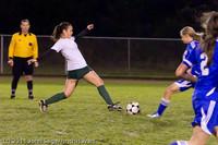 8542 Girls Varsity Soccer v Casc-Chr 101111