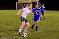 8567 Girls Varsity Soccer v Casc-Chr 101111