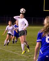 8579 Girls Varsity Soccer v Casc-Chr 101111