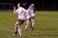8582 Girls Varsity Soccer v Casc-Chr 101111