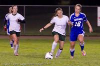 8647 Girls Varsity Soccer v Casc-Chr 101111
