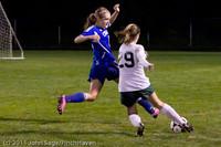 8720 Girls Varsity Soccer v Casc-Chr 101111