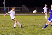 8762 Girls Varsity Soccer v Casc-Chr 101111