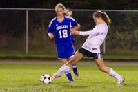 8766 Girls Varsity Soccer v Casc-Chr 101111
