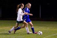 8875 Girls Varsity Soccer v Casc-Chr 101111