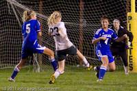 8887 Girls Varsity Soccer v Casc-Chr 101111