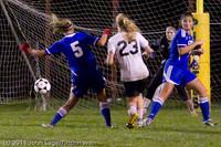 8889 Girls Varsity Soccer v Casc-Chr 101111