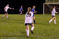 8912 Girls Varsity Soccer v Casc-Chr 101111