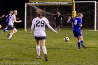 8916 Girls Varsity Soccer v Casc-Chr 101111