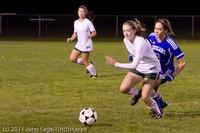 8948 Girls Varsity Soccer v Casc-Chr 101111