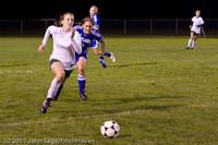 8955 Girls Varsity Soccer v Casc-Chr 101111