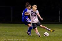 8982 Girls Varsity Soccer v Casc-Chr 101111
