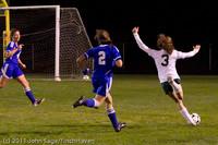 9046 Girls Varsity Soccer v Casc-Chr 101111
