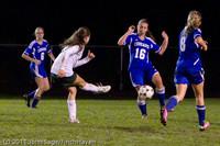 9068 Girls Varsity Soccer v Casc-Chr 101111