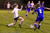 9114 Girls Varsity Soccer v Casc-Chr 101111