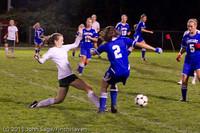 9115 Girls Varsity Soccer v Casc-Chr 101111