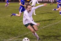9132 Girls Varsity Soccer v Casc-Chr 101111