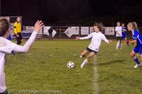 9143 Girls Varsity Soccer v Casc-Chr 101111