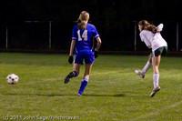 9173 Girls Varsity Soccer v Casc-Chr 101111