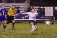 9199 Girls Varsity Soccer v Casc-Chr 101111
