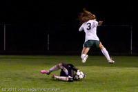 9213 Girls Varsity Soccer v Casc-Chr 101111