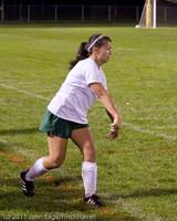 9229 Girls Varsity Soccer v Casc-Chr 101111