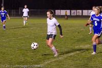 9236 Girls Varsity Soccer v Casc-Chr 101111