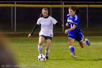 9329 Girls Varsity Soccer v Casc-Chr 101111