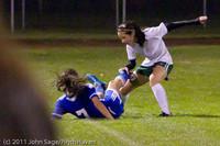 9334 Girls Varsity Soccer v Casc-Chr 101111