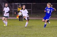 9361 Girls Varsity Soccer v Casc-Chr 101111