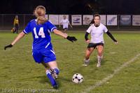9380 Girls Varsity Soccer v Casc-Chr 101111