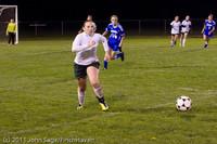 9425 Girls Varsity Soccer v Casc-Chr 101111