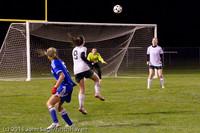 9438 Girls Varsity Soccer v Casc-Chr 101111