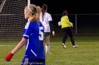 9449 Girls Varsity Soccer v Casc-Chr 101111