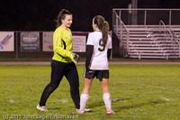 9468 Girls Varsity Soccer v Casc-Chr 101111