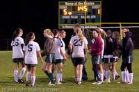 9482 Girls Varsity Soccer v Casc-Chr 101111