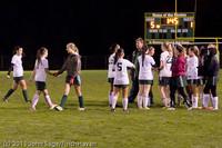9487 Girls Varsity Soccer v Casc-Chr 101111