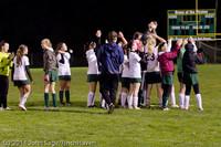 9502 Girls Varsity Soccer v Casc-Chr 101111
