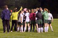 9516 Girls Varsity Soccer v Casc-Chr 101111