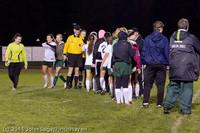 9523 Girls Varsity Soccer v Casc-Chr 101111